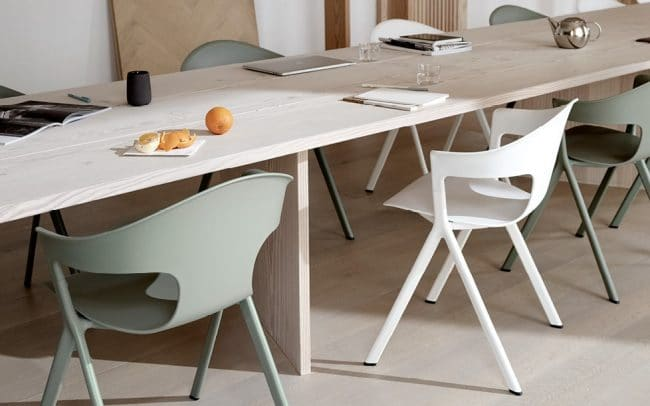Axyl Chairs and Stools by Allermuir