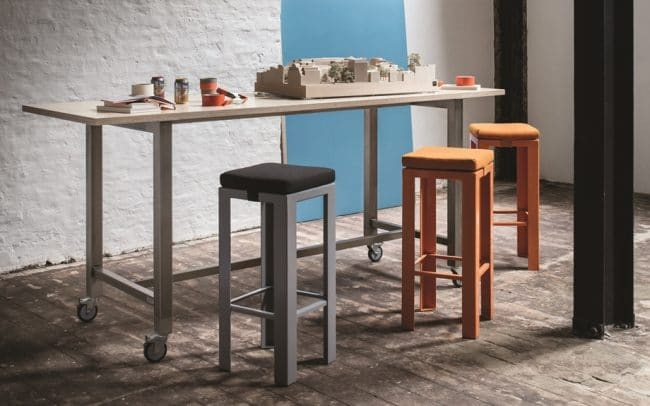 Jennifer Newman Huddle Mobile Meeting Tables