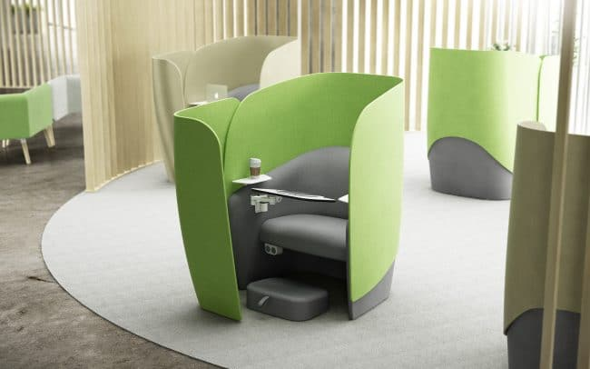 Mango Personal Workspace Chair