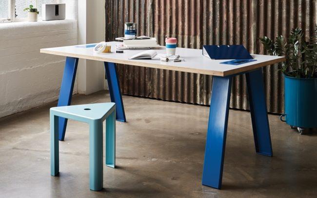 Jennifer Newman Trestle Table