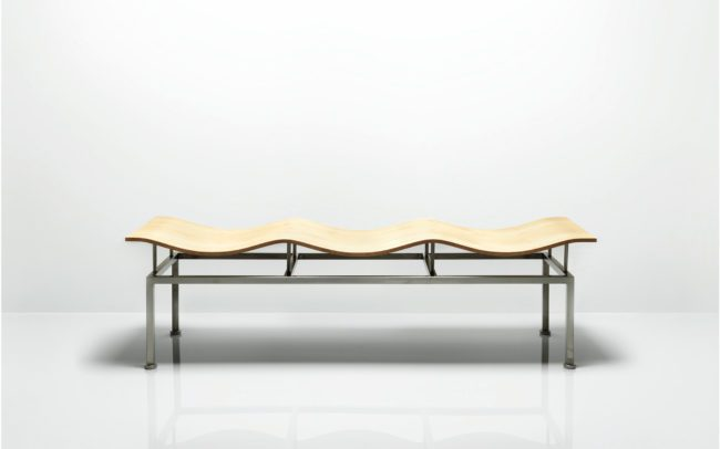 Allermuir Wave Bench