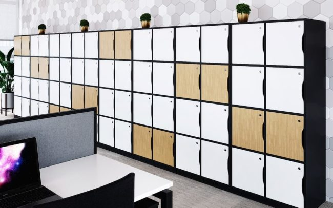 Moventi Cubby Locker Units