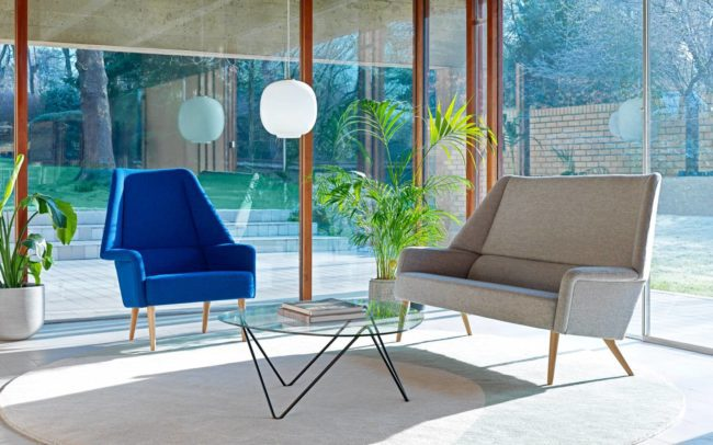 Ernest Race Flamingo Chair and Sofa
