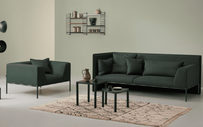 Modus South sofa and Chairs