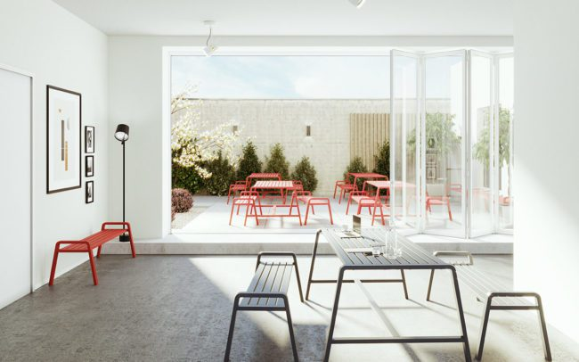 Frovi Osti Tables and Benches