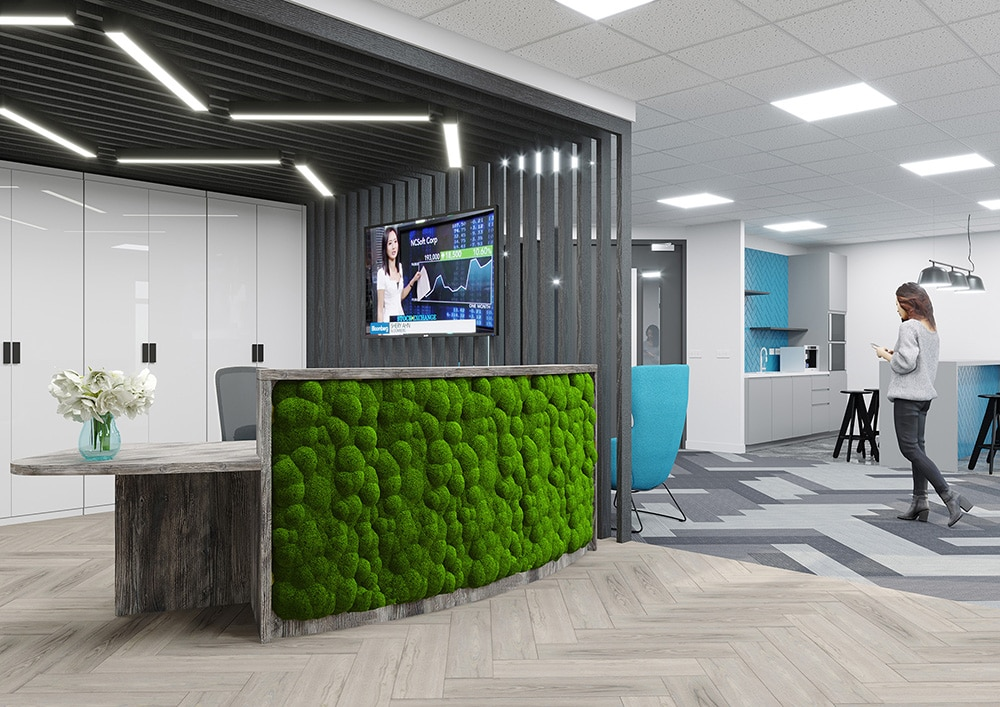 Biophilia arrives IN your reception desk